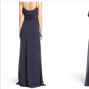 c1fe1063b1a2d Katie May Dresses - Katie May. Navy Eden Chiffon Gown